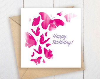 Happy Birthday Card   Printable Birthday Card   Instant download Birthday Card   Printable Birthday Card