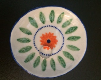 Small porcelain ceramic ring or trinket dish