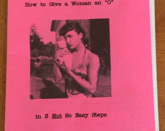"""How to Give a Woman an """"O"""""""