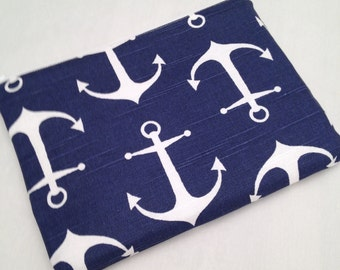 Zipper iPad mini padded sleeve/ iPad mini case ./   Made in Maine / zipper closure