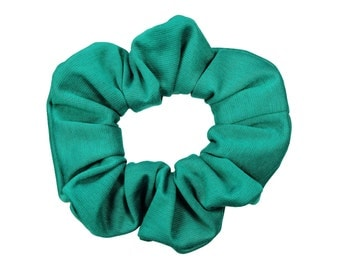 Scrunchies Jade Full & Fluffy (Free Shipping) Ponytail Holder Hair Accessories Made in USA