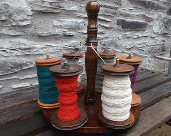 Lazy Kate - 6 bobbin - bobbin holder