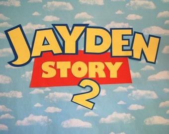 Toy Story Custom Name