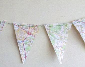 OS Paper Bunting Reading & Windsor