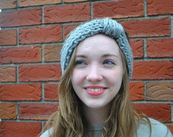 Knit Earwarmer, Knit Headband