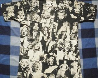 Vintage Marilyn Monroe 90s 80s Rare Mosquitohead T Shirt