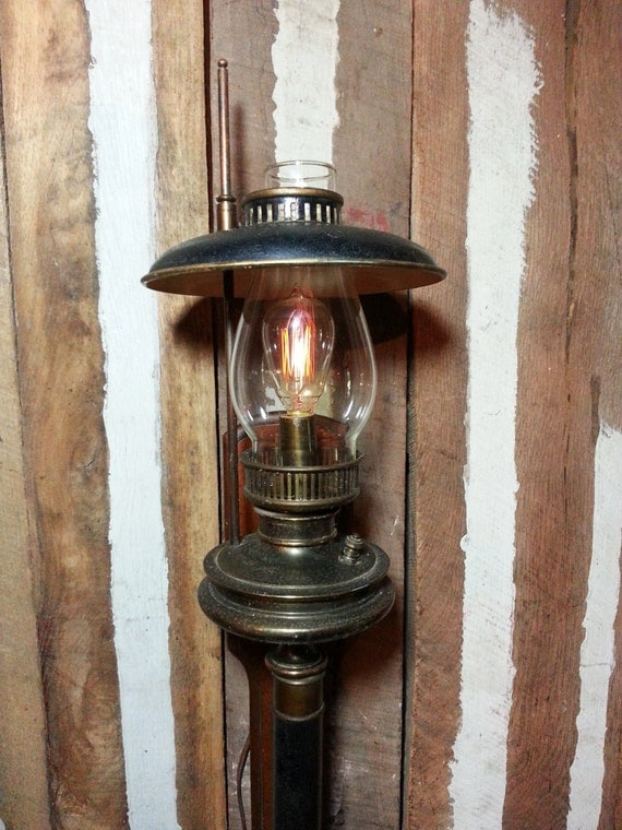 Storm Lantern Wall Lights : Vintage Antique Oil Kerosene Lamp Castle Lantern Torch
