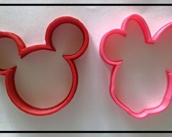 Mouse set of cutters 3.5 inch