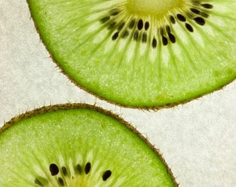 Kiwi! Food photography, kitchen, decor, still life, restaurant decor.