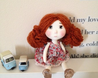 Rachel Handmade Paper clay art doll