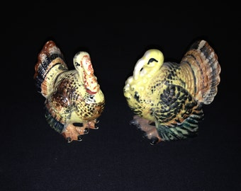 Vintage Thanksgiving Salt & Pepper Shakers
