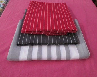 fabric for curtains/cushions/purses/bags,thick cotton fabric,red,grey ,white and grey striped,home decor fabric,Indian cotton fabric,