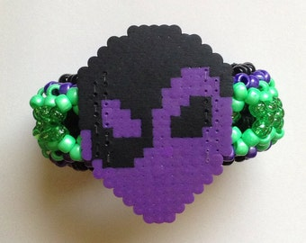 ALIEN TWONK Rave 3D Cuff/Armband - customize it!