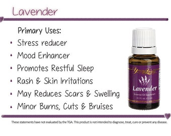 Young Living Lavender Essential Oil 15ml