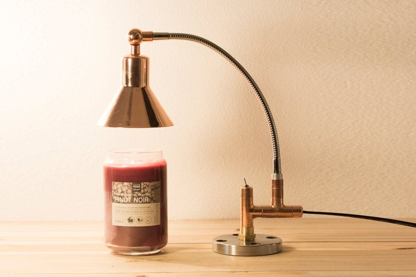Pipestory Candle Warmer Pipe Lamp Copper Pipe By