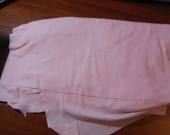 Destash-1 Piece of Light Pink T-shirt Fabric