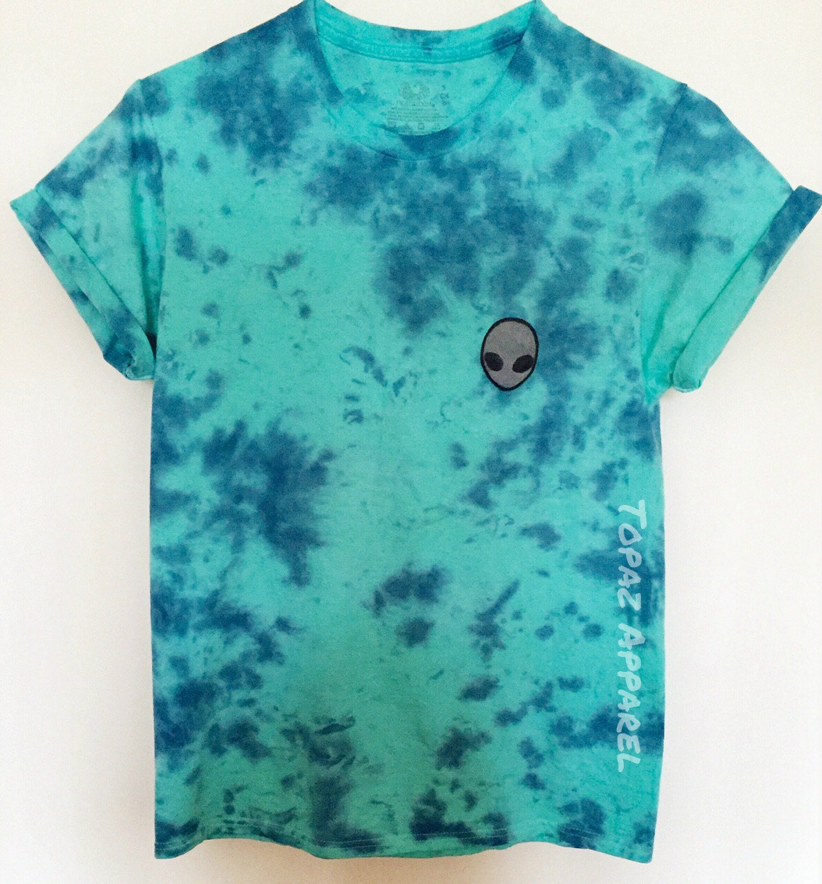 Cosimia tie dye shirt for Black and blue tie dye t shirts