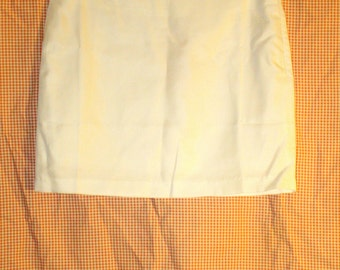 90s White Mini Skirt