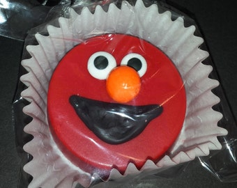 Elmo Sesame Street Chocolate Covered Oreos