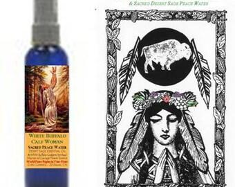 WHITE BUFFALO GODDESS Sacred Peace Water by Gypsy Goddess