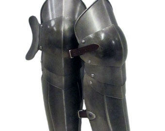 Larp Armour Articulated Greaves legs