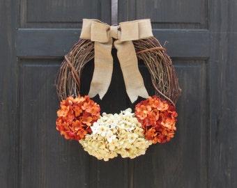 Front Door Decor, Front Door Wreath, Grapevine Wreath, Rustic Door Wreath, Hostess Gift, Rustic Door Decor, Rustic Decor, Primitive Wreath