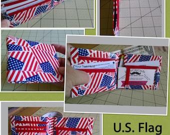 U.S.Flag Bi-Fold Duct Tape Wallet