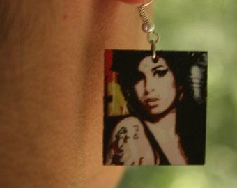 Amy Winehouse Earrings