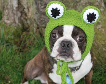 Frog Pet hat MADE TO ORDER