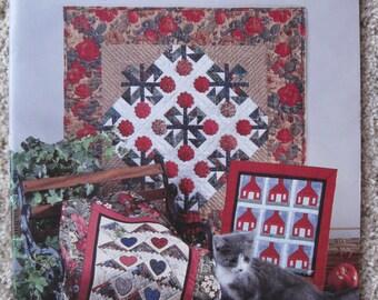 Mini Quilts - by Anita Murphy & her friends - American School of Needleowork #4133 - NEW