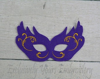 Mardi Gras Children's Mask  - Costume - Theater - Dress Up - Halloween - Face Mask - Pretend Play - Party Favor