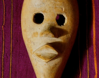 Dan Tribal Passport Mask Worn For Identification Cote d'Ivorie African Ethnic Art *3