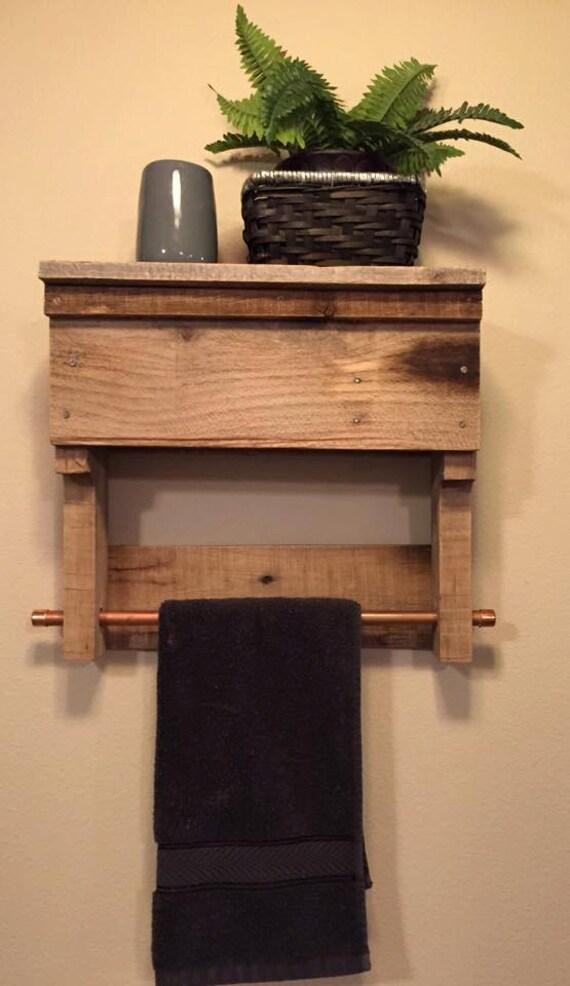 items similar to towel rack rustic wood pallet furniture. Black Bedroom Furniture Sets. Home Design Ideas