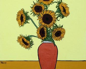 Sunflowers (Print)
