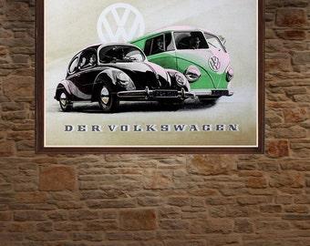 Der Volkswagen 1950's
