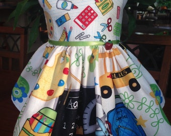 School Days dress fits 18 inch dolls including American Girl Doll