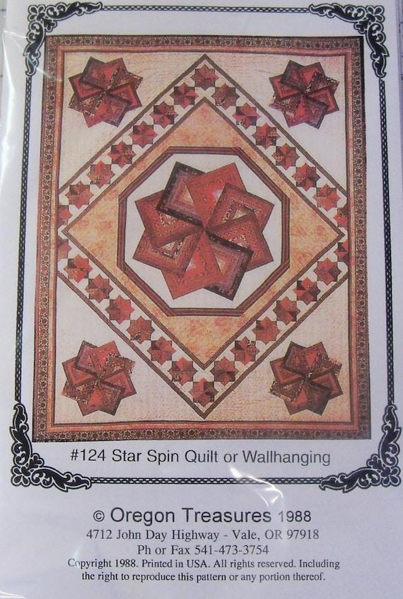 Quilt Patterns Strata Star : Star Spin Quilt Pattern by Oregon Trails
