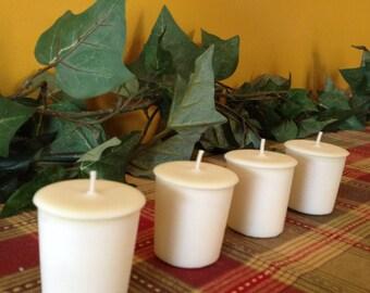 Energizing and Warming Nutmeg Votive Candle