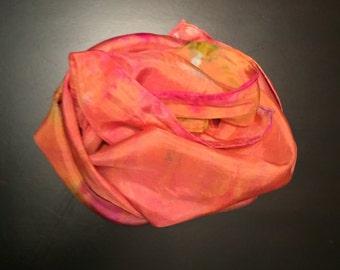 Silk Hand-Dyed Scarf