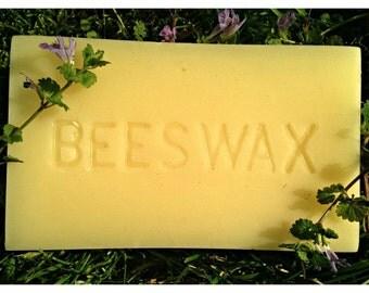 1 lb 100% Beeswax Brick