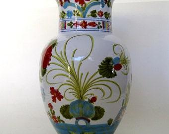 Italian Faience Vase