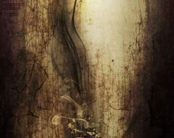 "Satanic Art Print ""Sulfur"" Dark Damned Hell, Hawaii five-0"