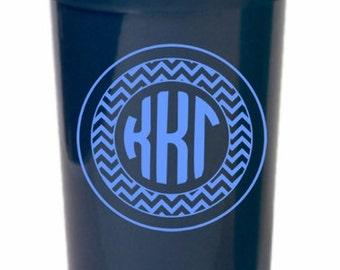 Kappa Kappa Gamma Monogrammed Giant Plastic Cup