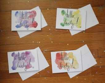 Hello, Lovely! Greeting Cards