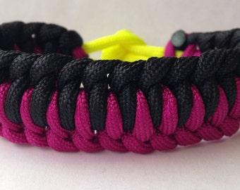Custom Genoese Paracord Bracelet