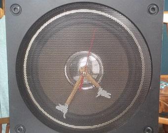 Stereo Speaker Clock