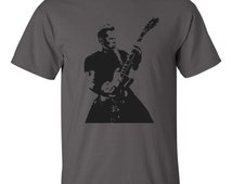 Metallica t-shirt featuring James Hetfield with 4 colour options