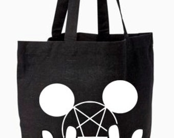 Metal Mouse Tote Bag