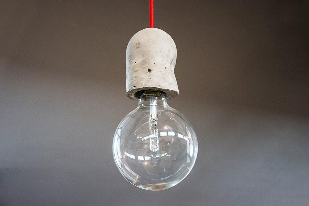 Portalampada Cemento per lampade sospensione