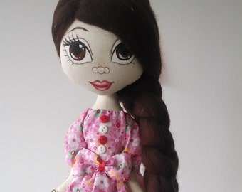 Handmade rag (cloth) doll